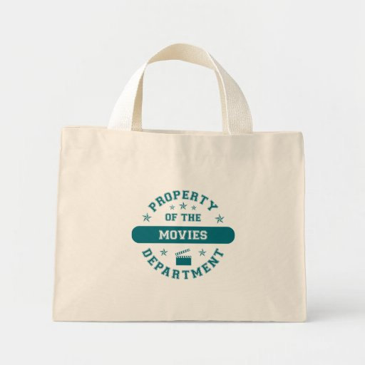 Property of the Movies Department Mini Tote Bag