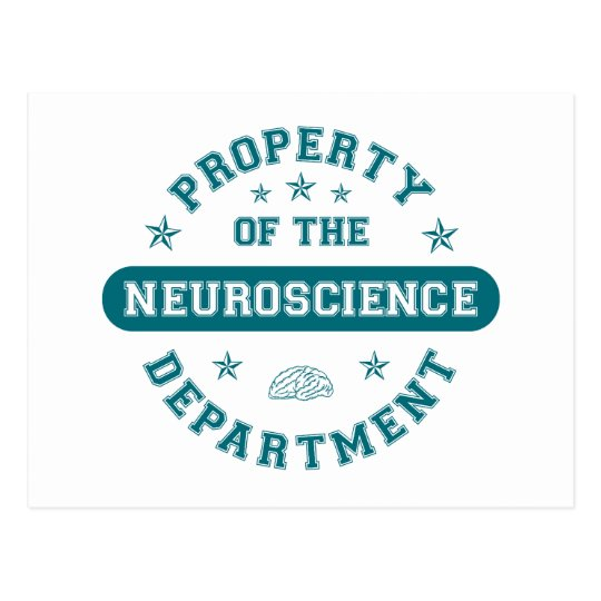 Property of the Neuroscience Department Postcard