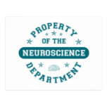 Property of the Neuroscience Department Postcards