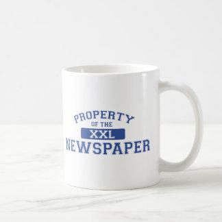 Property Of The Newspaper XXL Coffee Mug
