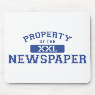 Property Of The Newspaper XXL Mouse Pad