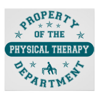 Property of the Physical Therapy Department Print