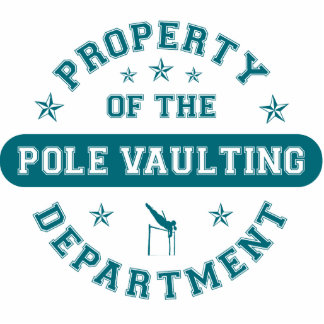 Property of the Pole Vaulting Department Cut Out