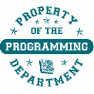 Property of the Programming Department Photo Sculpture Ornament