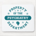 Property of the Psychiatry Department Mouse Mats
