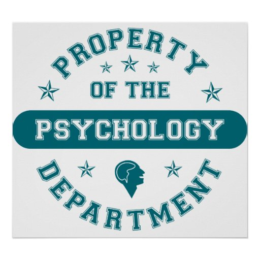 Property of the Psychology Department Poster