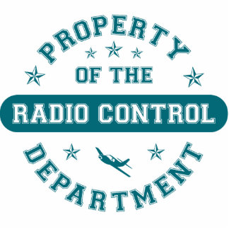 Property of the Radio Control Department Photo Sculpture Ornament