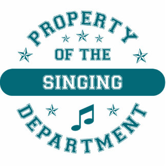 Property of the Singing Department Statuette