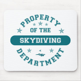 Property of the Skydiving Department Mouse Mats