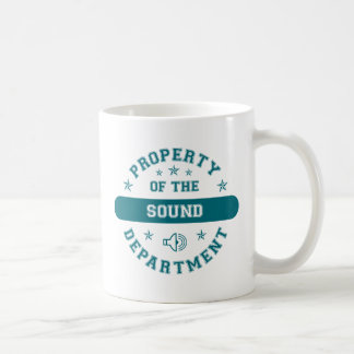Property of the Sound Department Coffee Mug