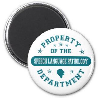 Property of the Speech Language Pathology Departme Fridge Magnets
