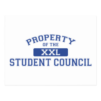 Property Of The Student Council XXL Postcard