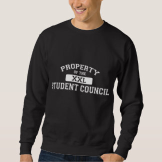 Property Of The Student Council XXL Sweatshirt