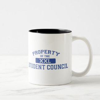 Property Of The Student Council XXL Two-Tone Coffee Mug
