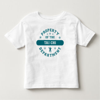 Property of the Tai Chi Department Toddler T-shirt