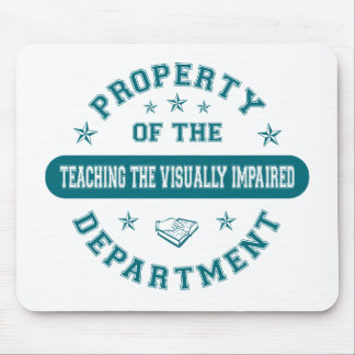 Property of the Teaching the Visually Impaired Dep Mouse Pads