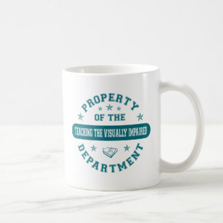 Property of the Teaching the Visually Impaired Dep Coffee Mugs