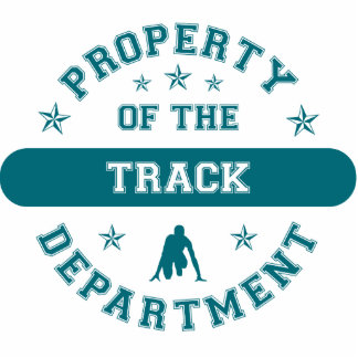 Property of the Track Department Photo Sculpture
