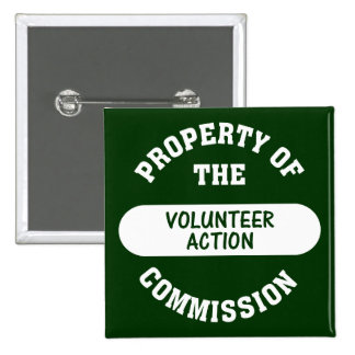 Property of the Volunteer Action Commission Button