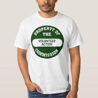 Property of the Volunteer Action Commission T-Shirt