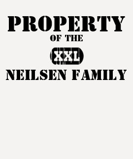 Property of the XXL (any name) family Dresses