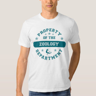Property of the Zoology Department T Shirt