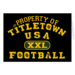 Property of Titletown USA XXL Football