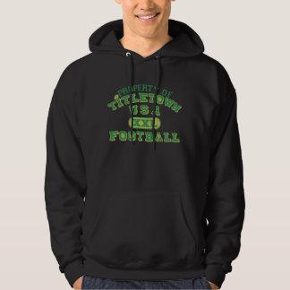 Property of Titletown USA XXL Football2 Hooded Sweatshirt