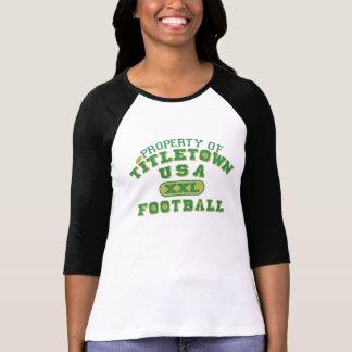 Property of Titletown USA XXL Football2 Shirts