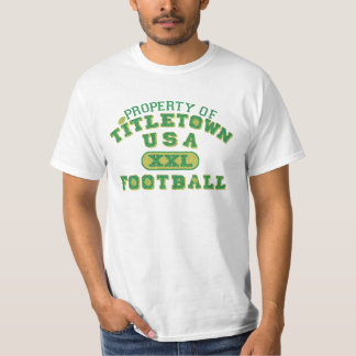 Property of Titletown USA XXL Football2 T Shirt