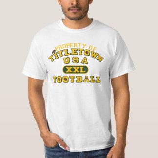 Property of Titletown USA XXL Football T Shirt