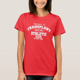 Property of Transplant Athletic Club-customizable T-Shirt