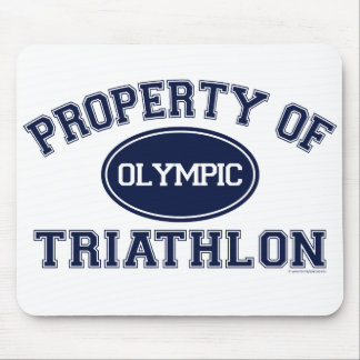 Property of Triathlon t-shirts Mouse Pad