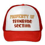 Property of Trombone Section Hats