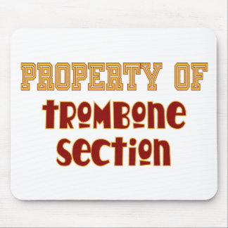 Property of Trombone Section Mouse Pad