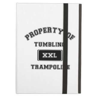 Property of Tumbling Trampoline iPad Cover