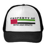 Property Of United Arab Emirates Trucker Hats