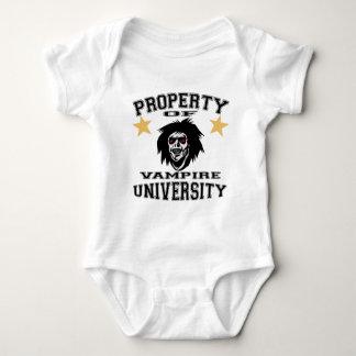 Property Of Vampire University Baby Bodysuit