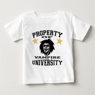 Property Of Vampire University Baby T-Shirt