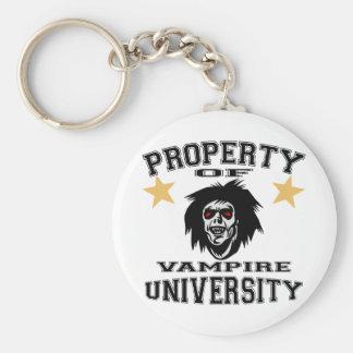 Property Of Vampire University Keychains