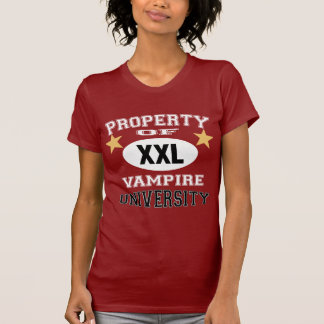 Property Of Vampire University T-shirt