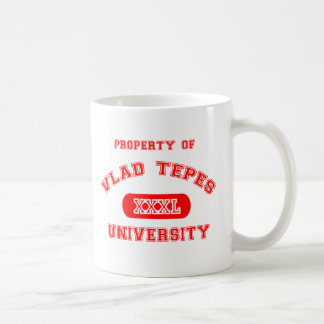 Property of Vlad Tepes Classic White Coffee Mug