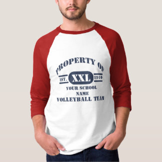 Property of Volleyball Team T-Shirt