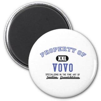 Property of Vovo Fridge Magnets
