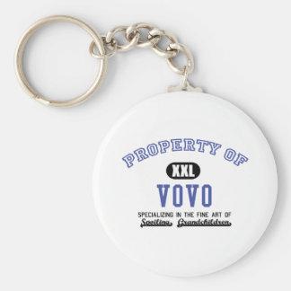 Property of Vovo Key Chains