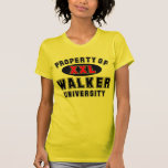 Property of Walker University T-shirt