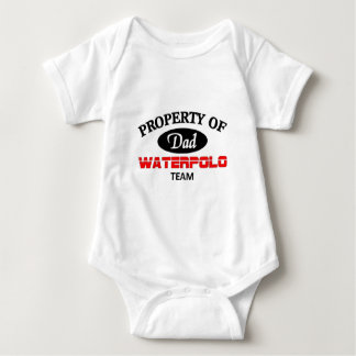 Property of  waterpolo team baby bodysuit