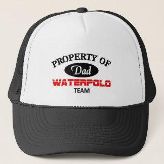 Property of  waterpolo team trucker hat