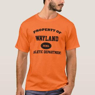 Property of Wayland  Athletic Department XXL T-Shirt