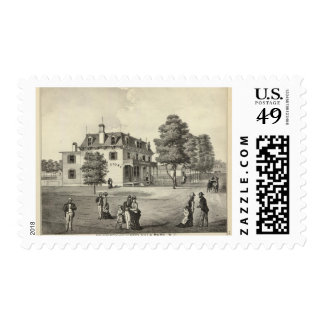 Property of Wm V Reid, Villa Park, NJ Postage Stamp